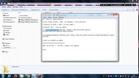 How to fix Visual Studio 2005 setup projects on Windows