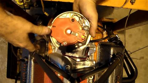 small block chevy plug wire diagram images how to install the distributor on a chevy small block engine