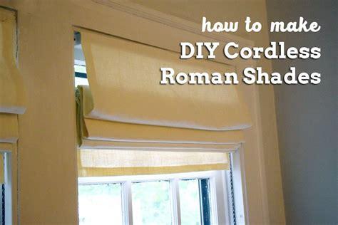 How to make Roman Blinds Blinds Alternative Windows