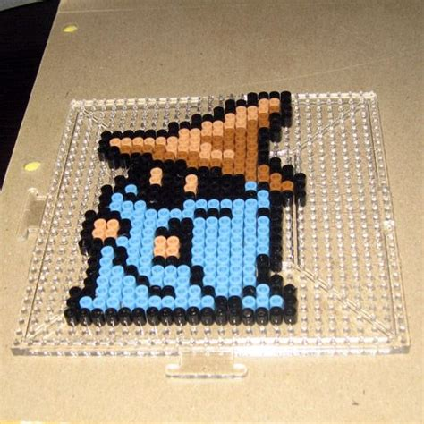 How to make your favorite Nintendo characters with Perler