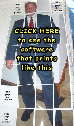 How to make your own LIFESIZE photo cutout or standee out
