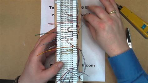 66 punch block wiring diagram images block wiring diagram on how to punch down a 66 block a 25 pair cable
