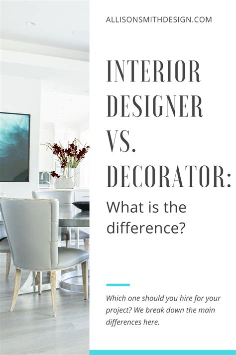 How to tell the difference between an interior designer