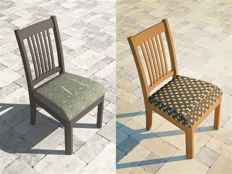 How to upholster a dining room chair seat