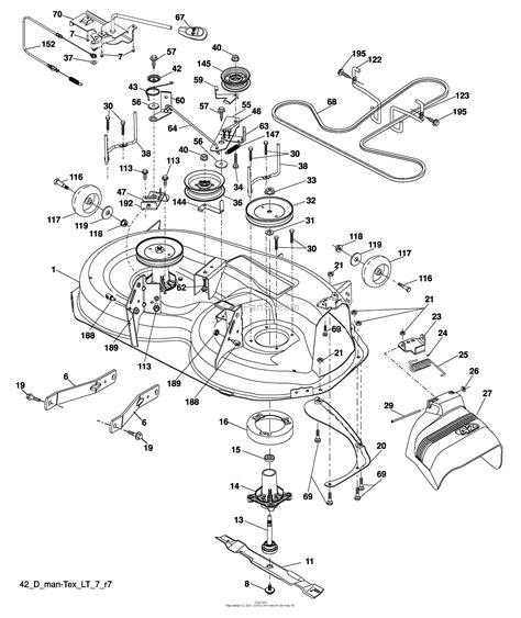 husqvarna lawn mower wiring diagram images also john deere lawn husqvarna lawn mower deck diagram husqvarna
