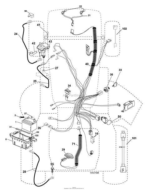 husqvarna lawn mower wiring diagram images also john deere lawn husqvarna mower wiring diagram husqvarna wiring