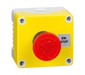 Hylec APL Emergency Start Stop Control Station Yellow