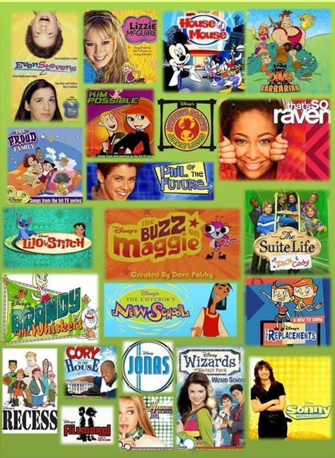 I Found Links To All Your Favorite Old Disney Channel