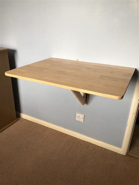 IKEA s Wall Mounted Drop Leaf Tables Kitchn