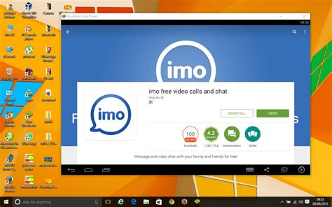 IMO for windows imo free video call app download for PC