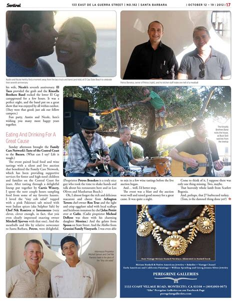 IN THE THICKE OF IT by Santa Barbara Sentinel issuu