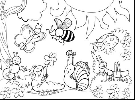 INSECT coloring pages 30 free Insects and Bugs coloring