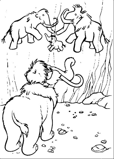 Ice Age coloring pages Coloring pages for kids