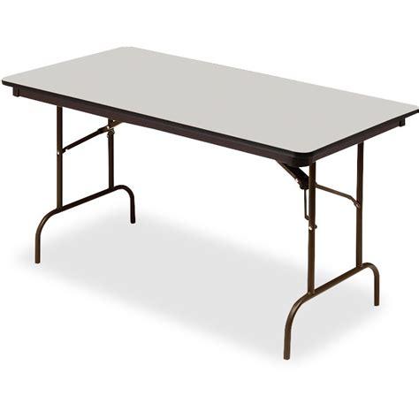 Iceberg Premium Wood Laminate Folding Table Walmart