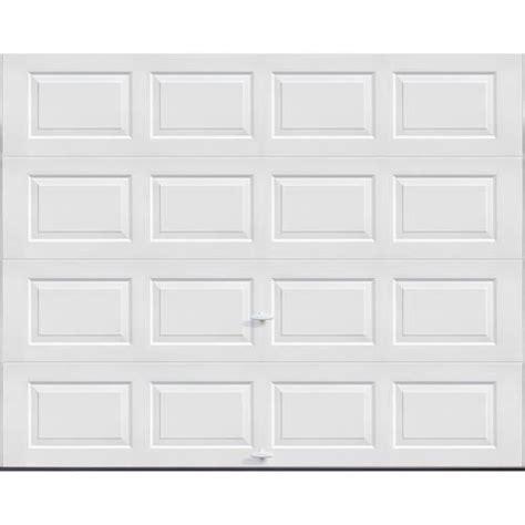 Ideal Door 4 Star 9 ft x 7 ft White Insulated Garage