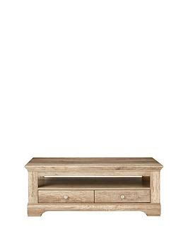 Ideal Home Wiltshire 2 Drawer Coffee Table very
