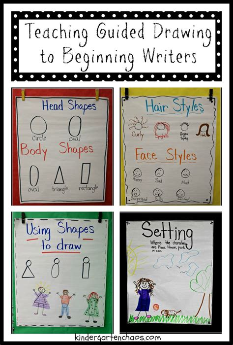 Ideas For Teaching Guided Drawing to Beginning Writers