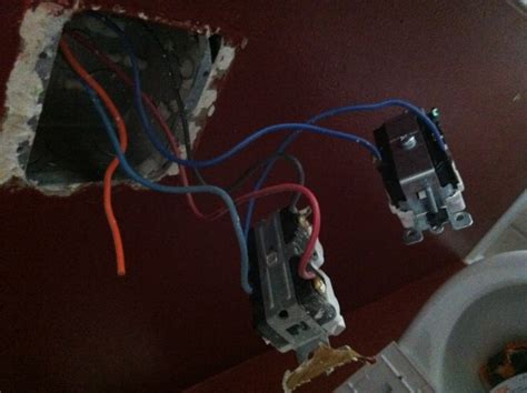 Identifying A Circuit Type With An Orange Wire