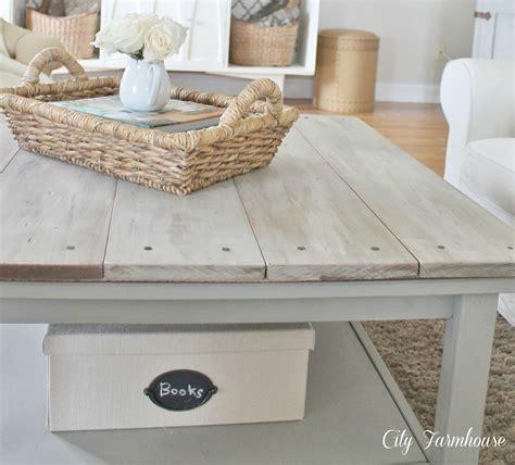 Ikea Hacked Barnboard Coffee Table Tutorial City Farmhouse