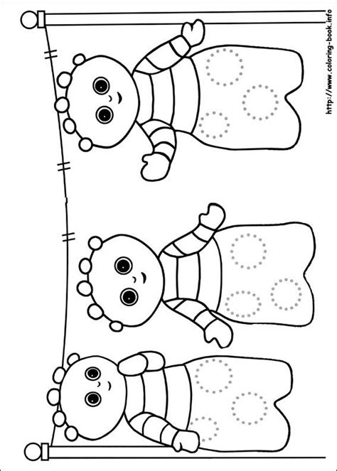 In the night garden coloring pages on Coloring Book info