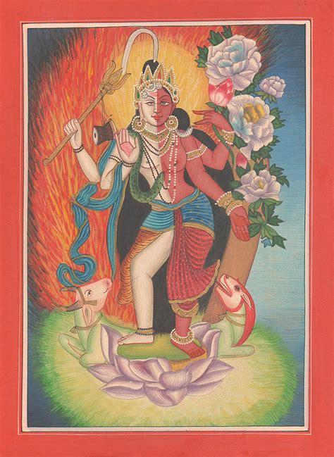 Indian Art Galleries paintings of Hindu Gods