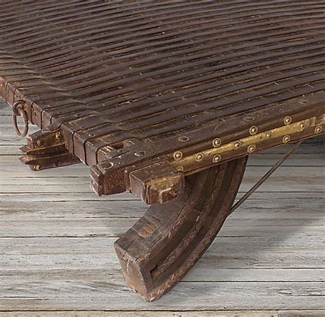 Indian Ox Cart Coffee Table 2 RH Homepage