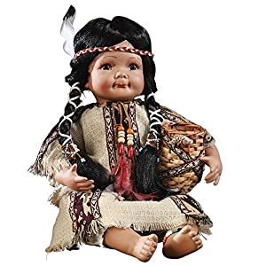 Indian Southwest Collectible Porcelain Doll from