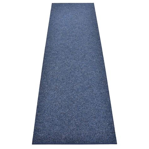 Indoor carpet runners in several skid resistant sizes and