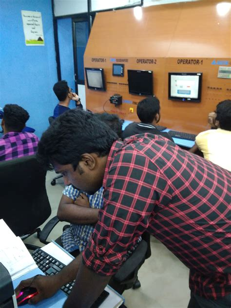 Industrial Automation in India PLC SCADA DCS Training in