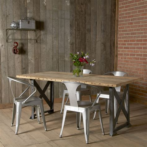 Industrial Dining Tables French Dining Tables Modern