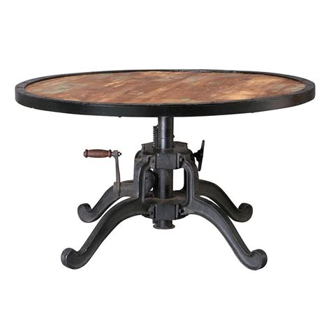 Industrial Natural Reclaimed Extendable Coffee Table