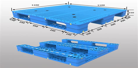 Industrial Plastic Pallets Molded Pallets Systems Nilkamal