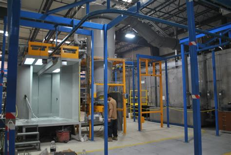 Industrial Powder Coating Equipment Systems Supplies