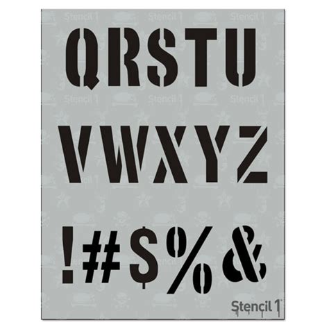 Industrial Supply Stencils Commercial Stencils Large