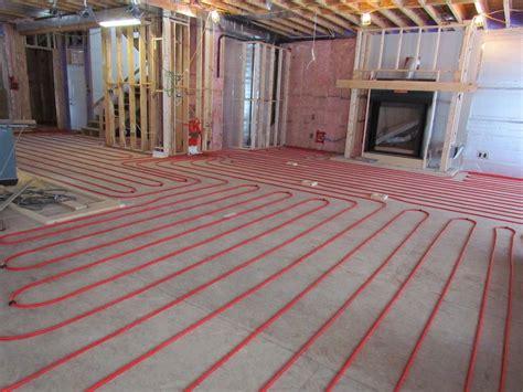 Infloor and Underfloor Heating Floor Tiles Heated