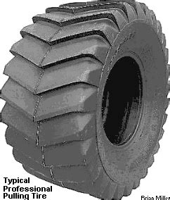 Information About Tractor Pulling Tires and How To Widen