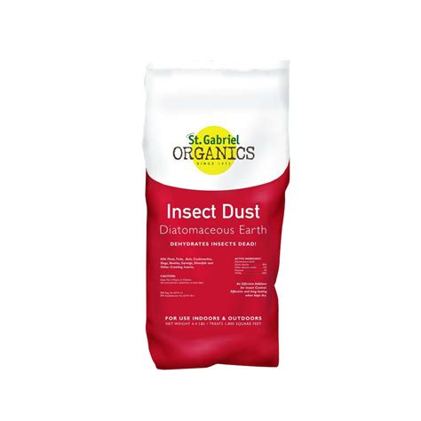 Insect Dust 4 4 lb Diatomaceous Earth Indoor Outdoor