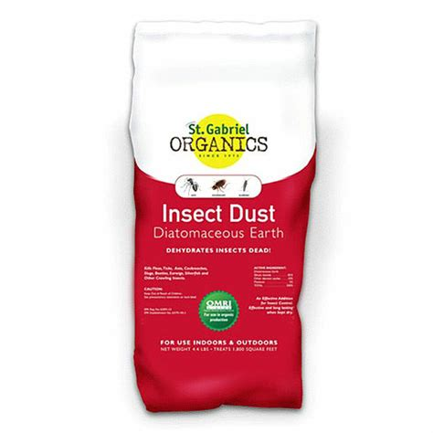 Insect Dust Diatomaceous Earth 4 4 lb Eartheasy