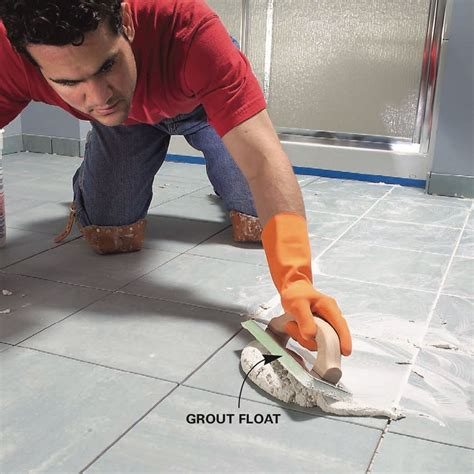 Install a Ceramic Tile Floor In the Bathroom Family Handyman