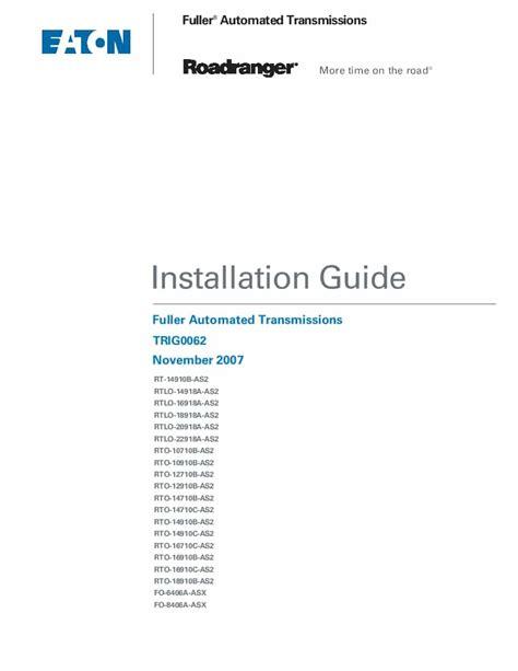 Installation Guide Roadranger