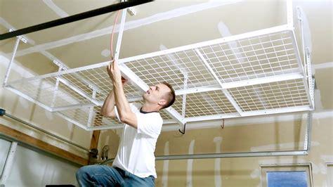 Installation Instructions Ceiling Hanging Garage Storage