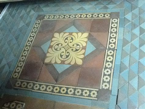 Installations Antique tiles Antique Floors Encaustic