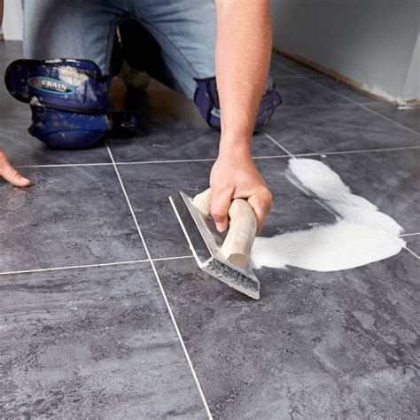 Installing Self Adhesive Vinyl Tiles Over Concrete