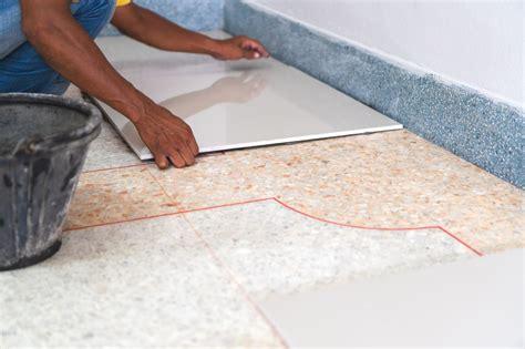 Installing Tile Over Vinyl Country Custom Tile