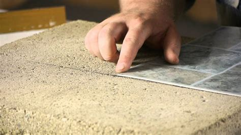 Installing Tile Over Vinyl Wood Concrete