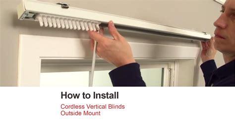Installing Vertical Blinds