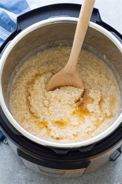 Instant Pot Steel Cute Oats How To Cook Oatmeal
