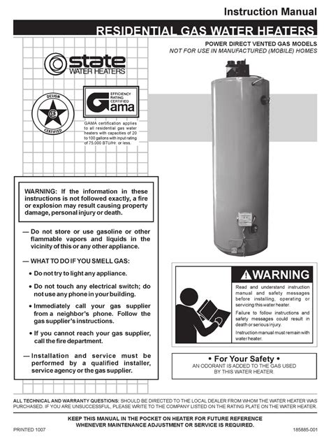 wiring diagram reliance 606 hot water heater images instruction manual for residential power vent gas water