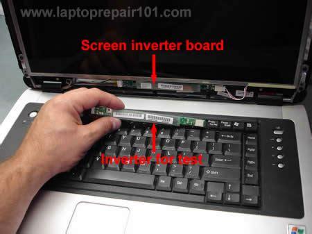 Instructions diagram for replacing laptoprepair101