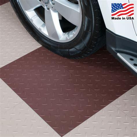 Interlocking Floor Tiles Diamond Top ModuTile